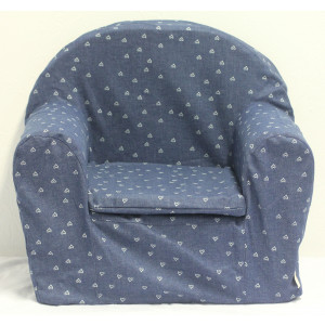 Kinderfauteuil Denim Hartjes