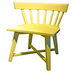 Kinderstoel Cross chair - geel