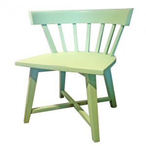 Kinderstoel Cross chair groen
